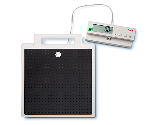 Seca 899 Floor Scale with Cable Connected Display