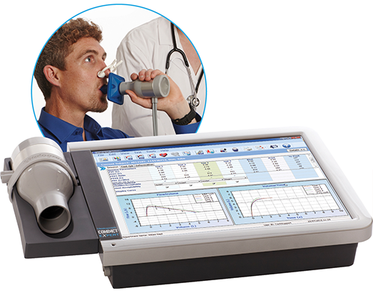 Vitalograph 6600 COMPACT Spirometer Medical Workstation with ECG