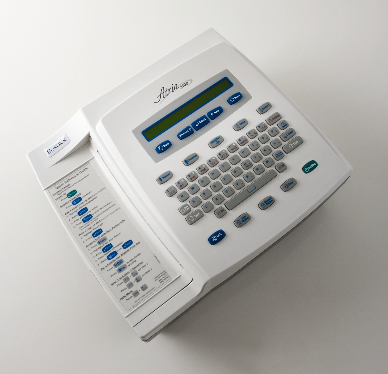 Burdick Atria 3100 Interpretive ECG Machine
